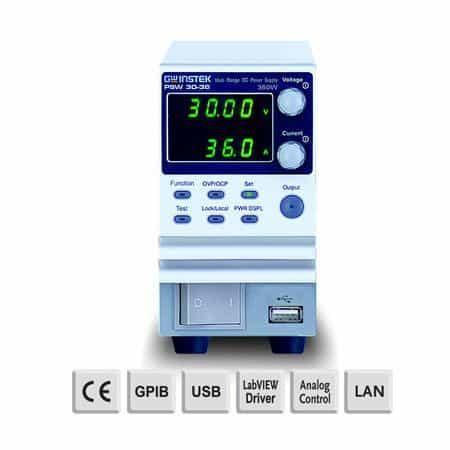 Nguồn DC lập trình chuyển mạch GW Instek PSW 30-36
