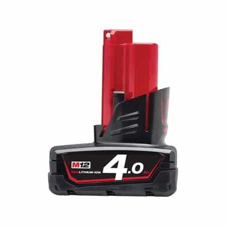 Pin 12V 4.0Ah Milwaukee M12B4