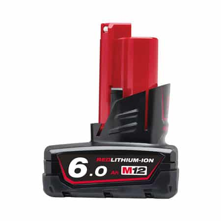 Pin 12V 6.0Ah Milwaukee M12B6