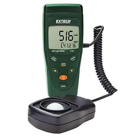 Thiết bị đo cường độ ánh sáng Extech LT45 (400 Klux)