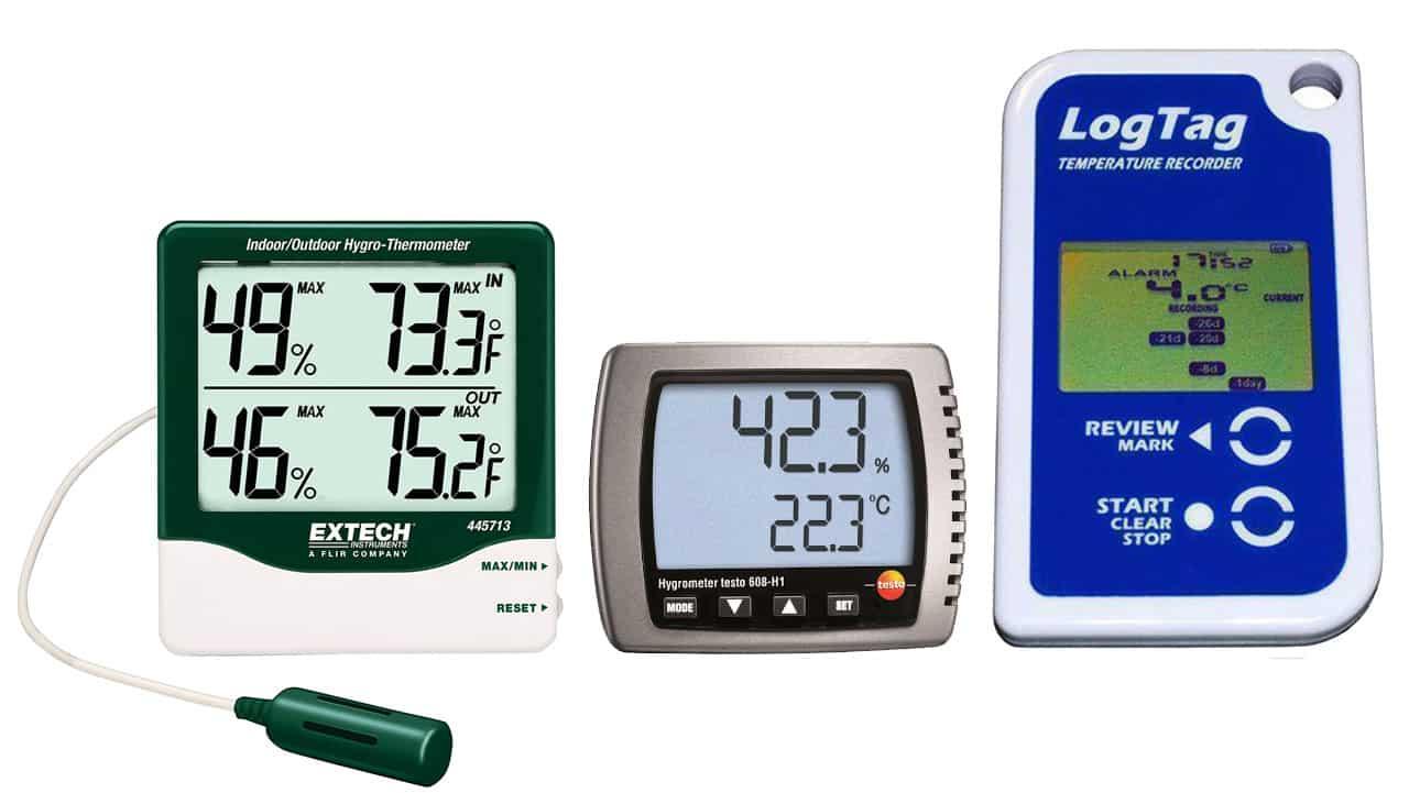 Thiết bị đo nhiệt độ độ ẩm không khí