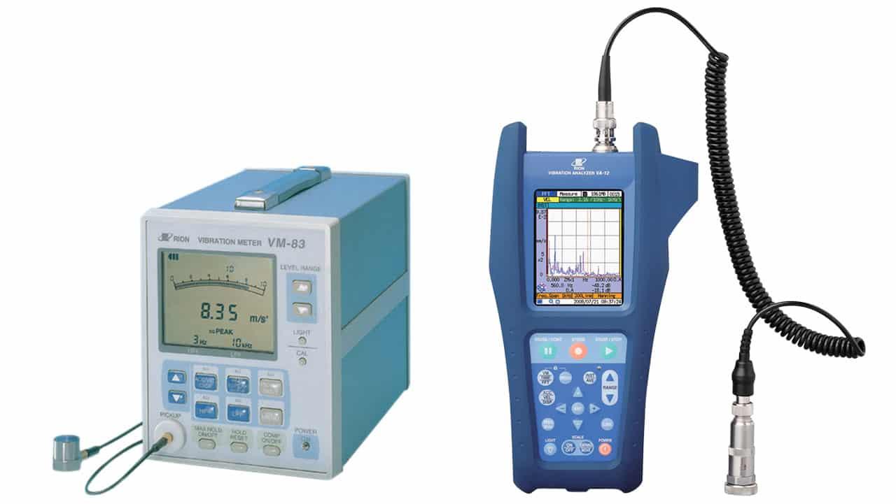 Thiết bị đo phân tích rung động