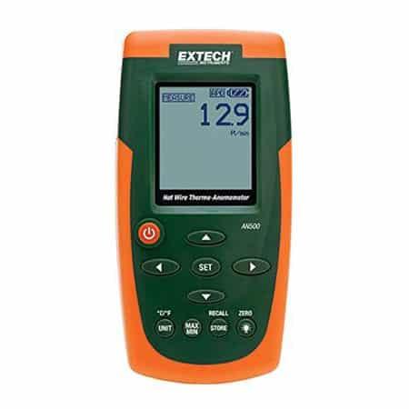 Thiết bị đo tốc độ và nhiệt độ của gió Extech AN500 (20m/s)