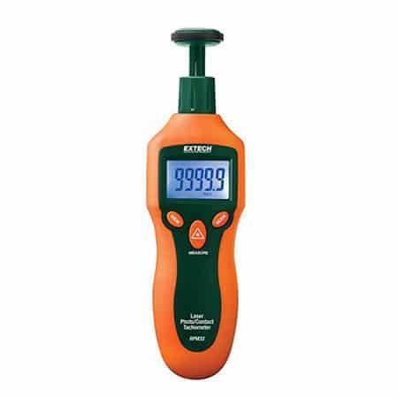 Thiết bị đo tốc độ vòng quay Extech RPM33 (Tiếp xúc, không tiếp xúc)