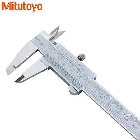 Thước cặp cơ khí Mitutoyo 530-118, 0-8\\\'\\\'/0-200mm x 0.02mm