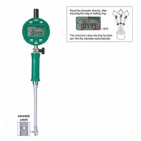 Thước đo lỗ điện tử cho lỗ nhỏ INSIZE 2152-10 (03)