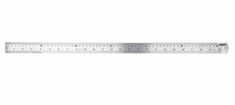 Thước lá thẳng INSIZE, 7110-600, 0-600mm/0.15mm