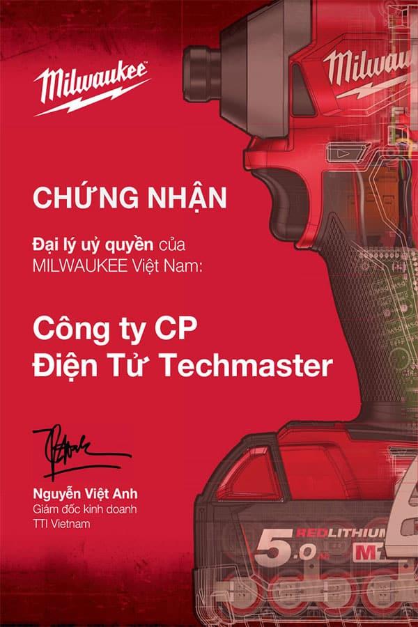 Techmaster Phân Phối Chính Thức Milwaukee Tại Thị Trường Việt Nam