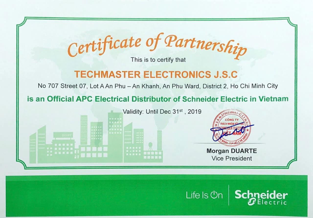 Techmaster Phân Phối Chính Thức UPS APC Schneider Tại Thị Trường Việt Nam